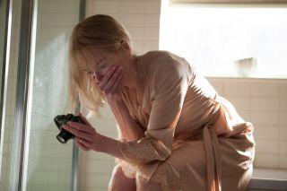 Star Nicole Kidman gets a shock