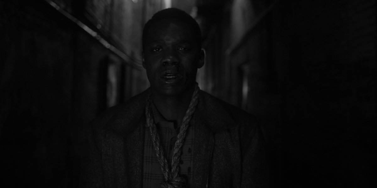 Jovan Adepo as Hooded Justice in Watchmen