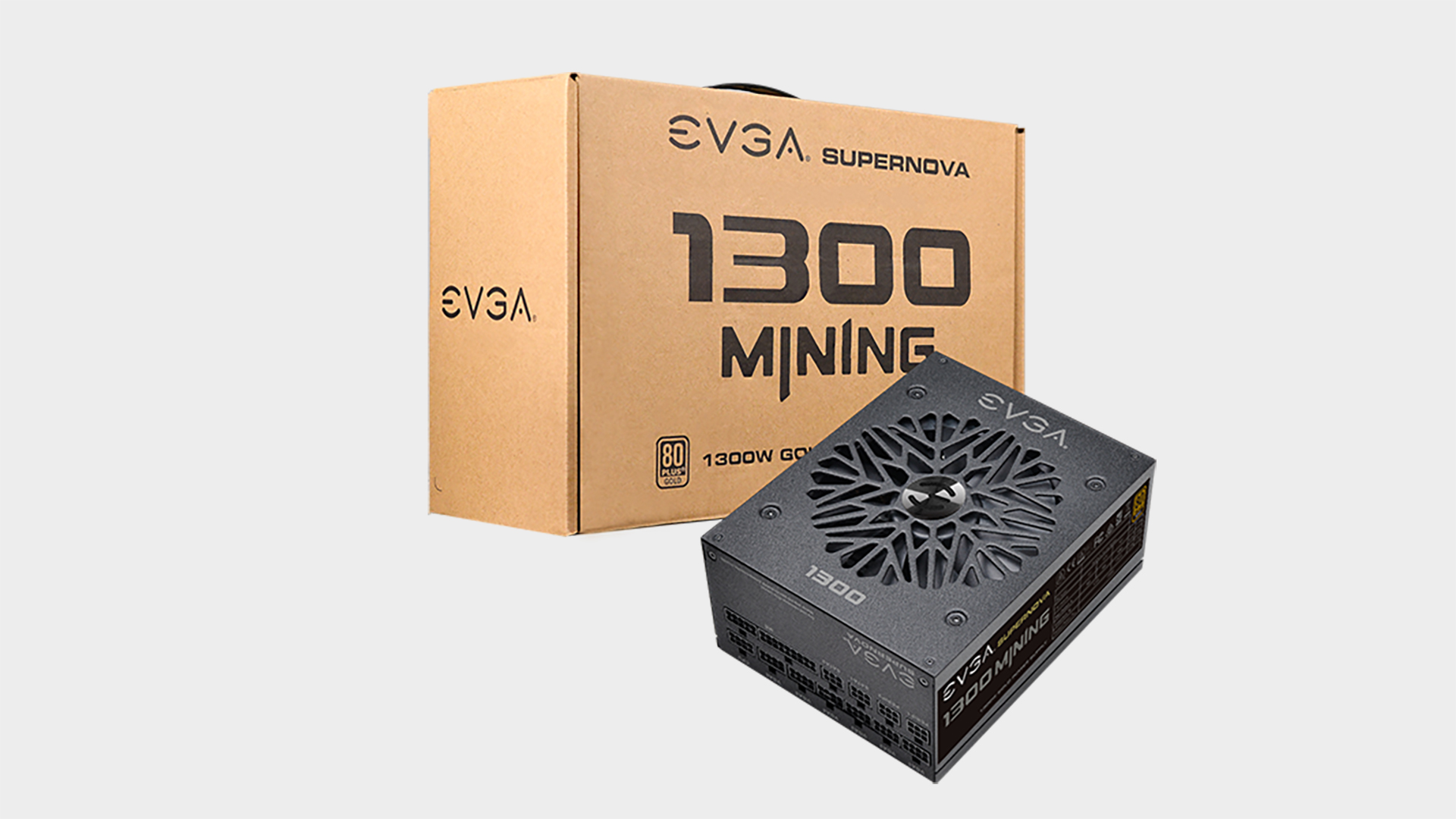 Cryptocurrency mining surge has this 1.3KW EVGA PSU on sale outside of China for the first time