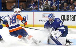 NHL Stanley Cup Playoffs New York Islanders Tampa Bay Lightning