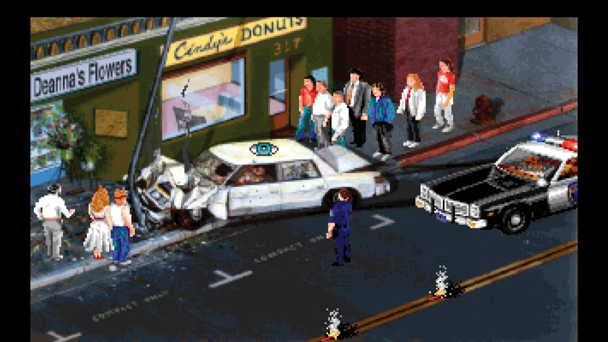Police Quest's tense encounters made me wish adventure games would kill you again