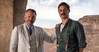 Sam Neill and Max Irons in Tutankhamun