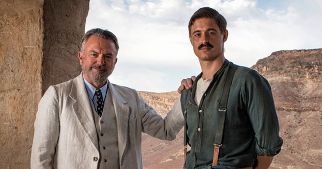 Sam Neill and Max Irons in Tutankhamun