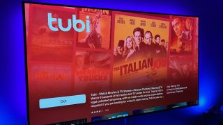 Tubi app on Apple TV