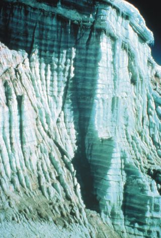 Quelccaya glacier in 1977