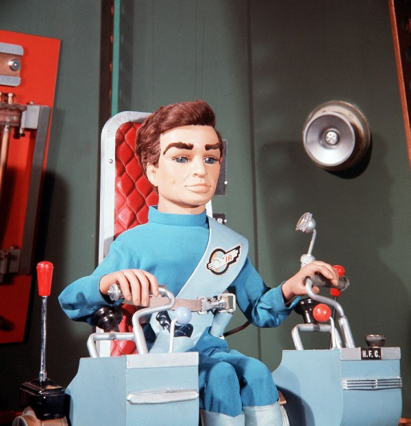 A typical scene from Thunderbirds