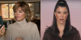 Lisa Rinna Seems Happy About Scott Disick And Amelia Hamlin Break-Up, But How Does Kourtney Kardashian Feel?