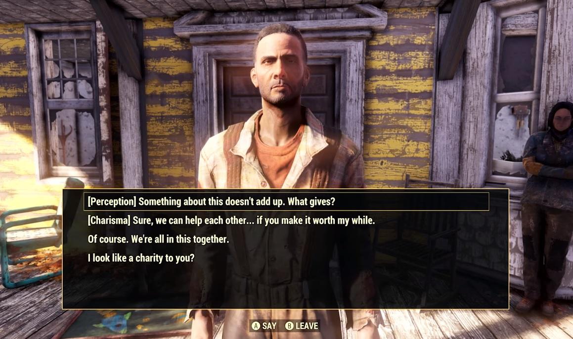 Free Fallout 76 Wastelanders expansion will add human NPCs