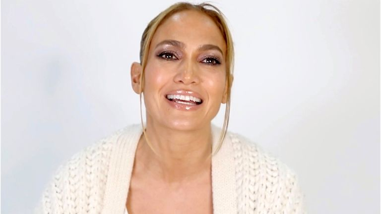 UNSPECIFIED - DECEMBER 10: In this screengrab released on December 10, Jennifer Lopez accepts the Icon Award during the Billboard Women In Music 2020 event on December 10, 2020. (Photo by 2020 Billboard Women In Music/Getty Images for Billboard)