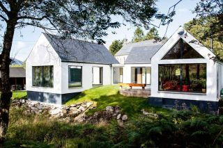 self build home built on a budget of £100k