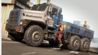 Cargo truck in COD: Warzone.