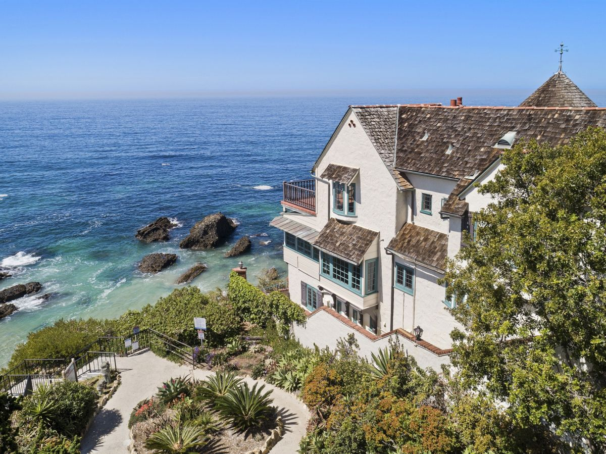 Inside Bette Davis's former coastal home – a stunning French Normandy estate in Laguna Beach