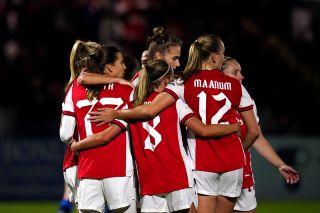 Arsenal v Hoffenheim – Women's UEFA Champions League – Group C – Meadow Park