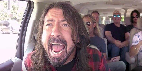 The Foo Fighters in Carpool Karaoke