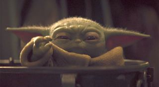 Could Baby Yoda be the face of a new Star Wars movie?