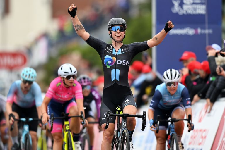 Lorena Wiebes wins stage four of the 2021 Women's Tour