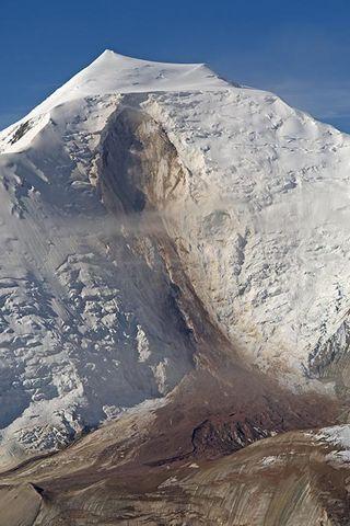 Mt. Steele landslide
