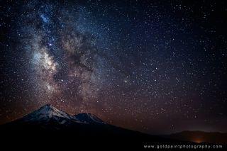 Milky Way Mount Shasta