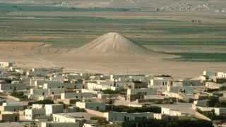 Here's what the ancient memorial looked like before it was flooded from the construction of a dam.