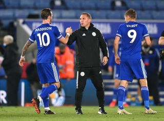 Brendan Rodgers urges Leicester to embrace hectic schedule ...