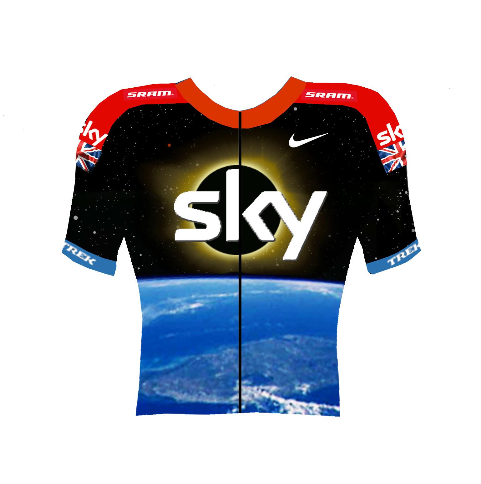 Barnett Sky team jersey