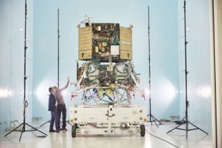 Luna 25 spacecraft