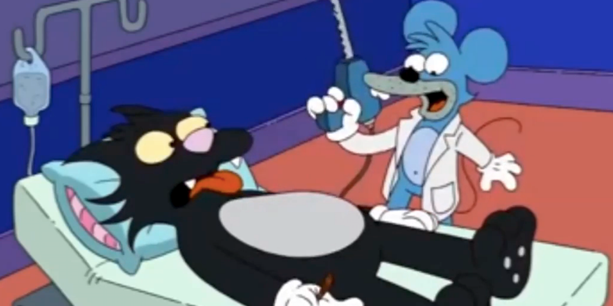 itchy and scratchy the simpsons fox