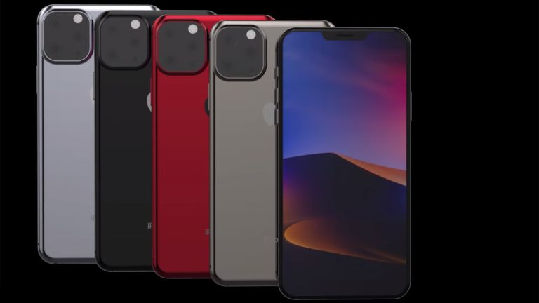 iPhone 11 concept
