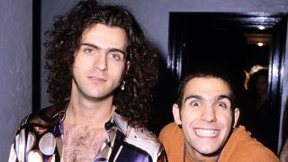Dweezil and Ahmet Zappa in 1994