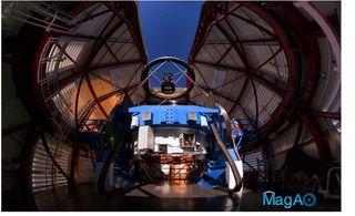 Magellan Telescope with MagAO's Adaptive Secondary Mirror
