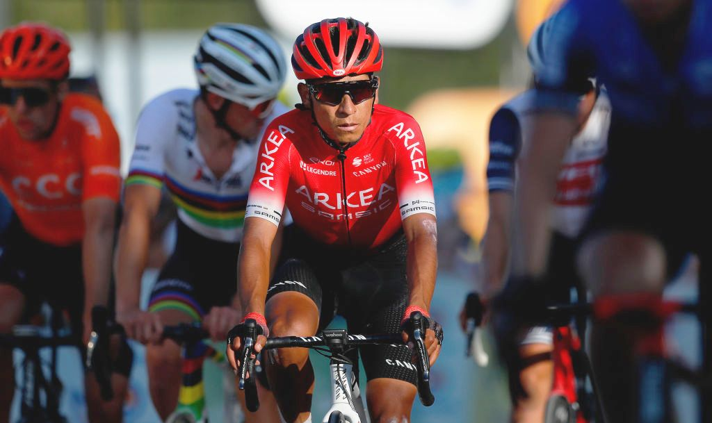Nairo Quintana back in training two months after knee surgery