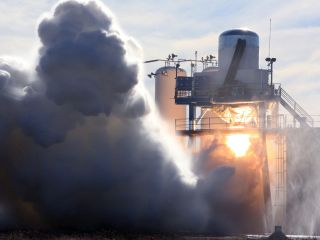 New Commercial Rocket Passes Final Engine Test