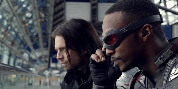 Falcon and Bucky in Civil War
