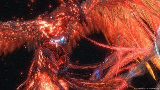 Phoenix ala PS5's Final Fantasy XVI footage
