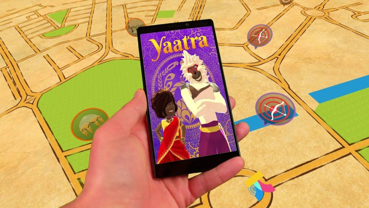 Yaatra AR game