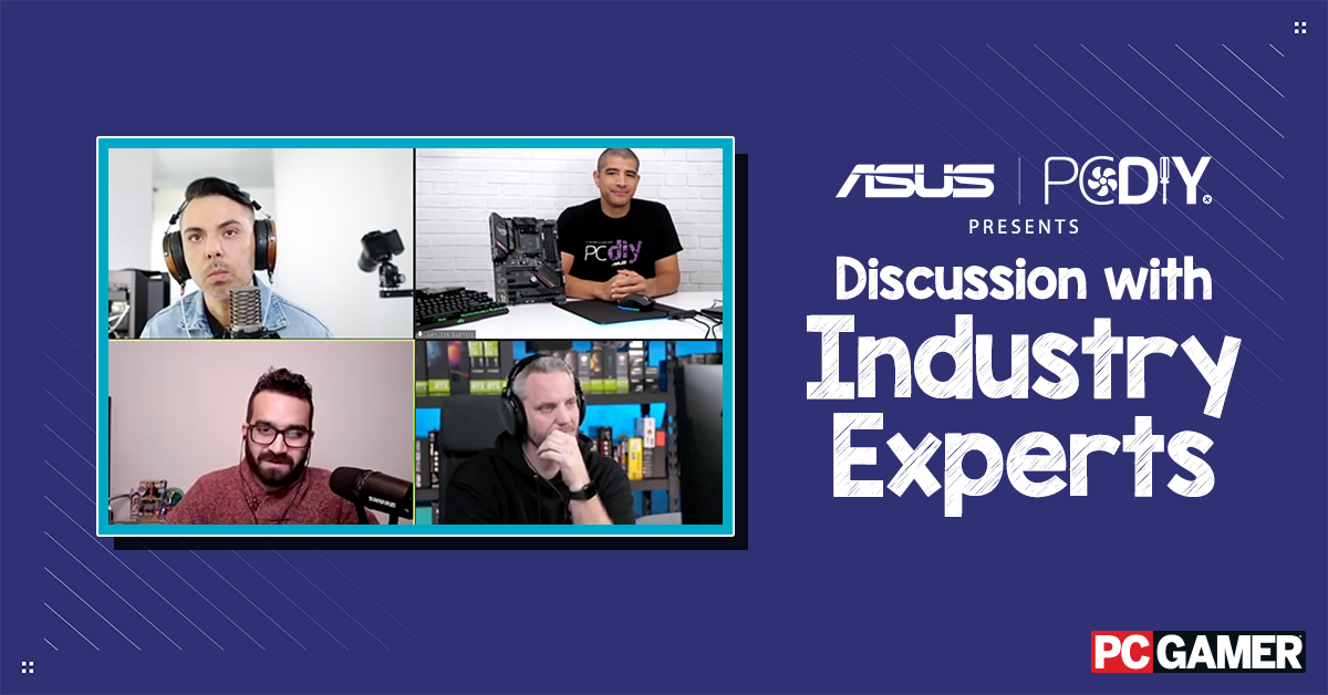 Join Asus PC DIY this February to learn from industry experts, connect with the PC DIY community, and share your love for PC building!