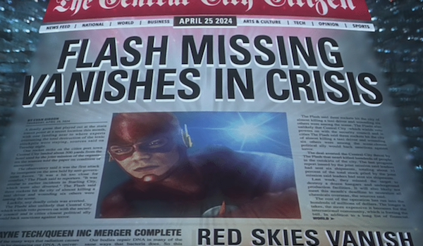 flash newspaper