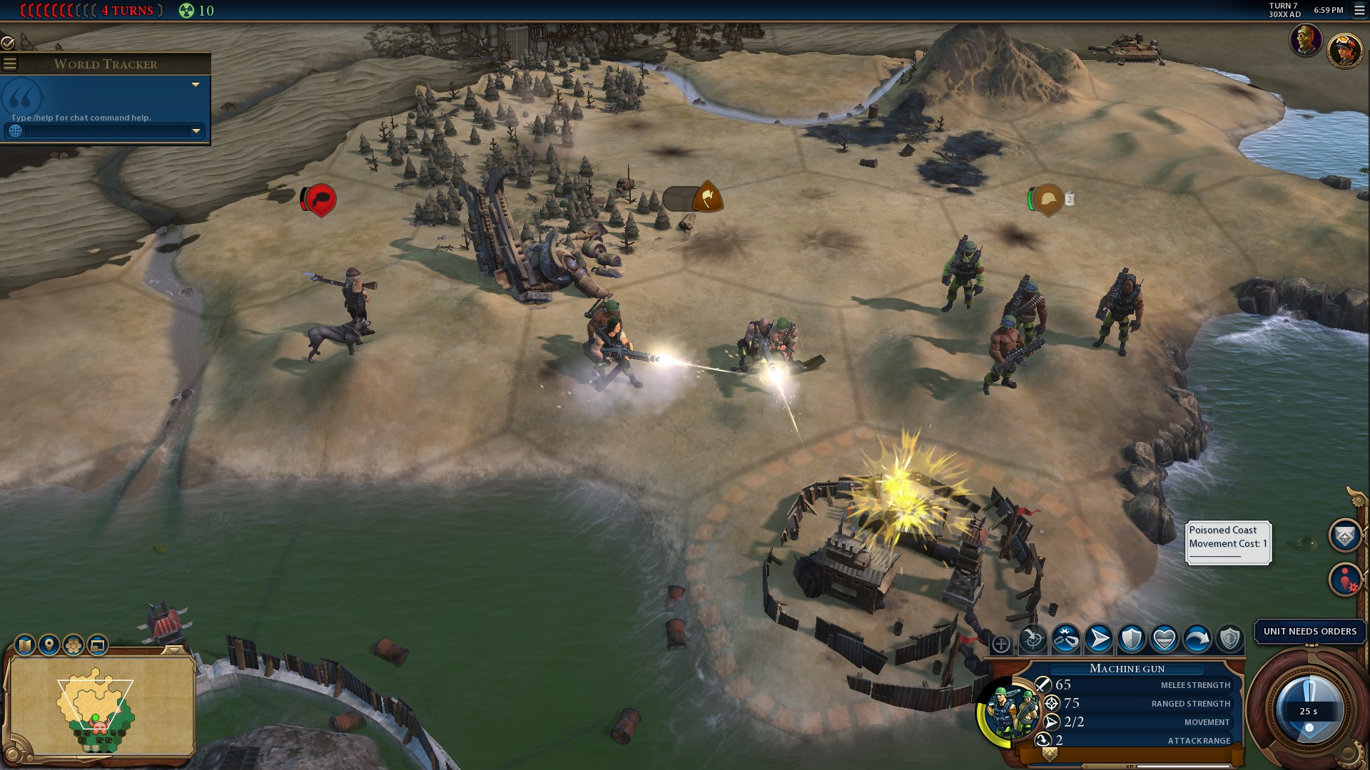 Цивилизация 6: Красная Смерть