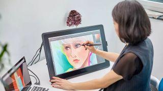 Best tablets with a stylus pen: Wacom Cintiq 22