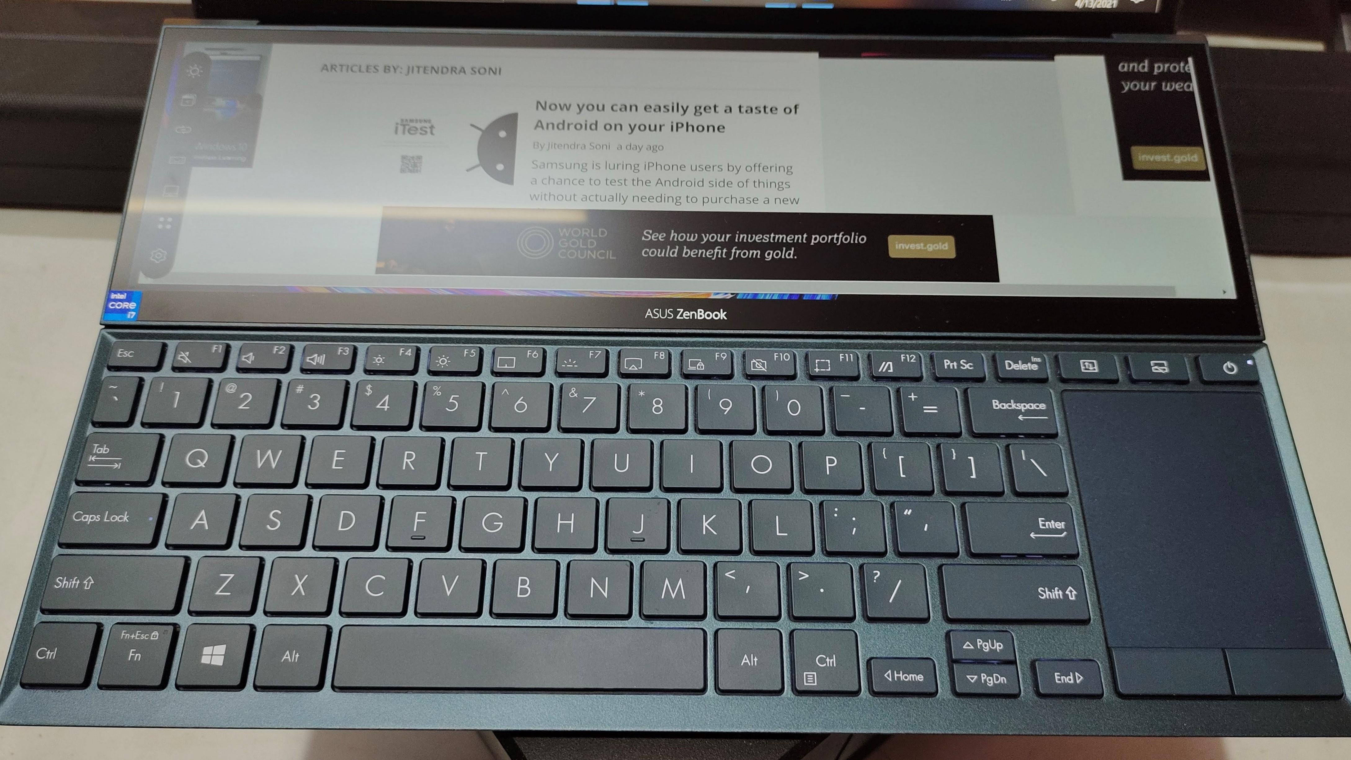 Asus ZenBook Duo UX482E