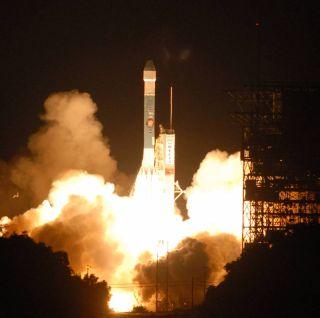 Delta II launching