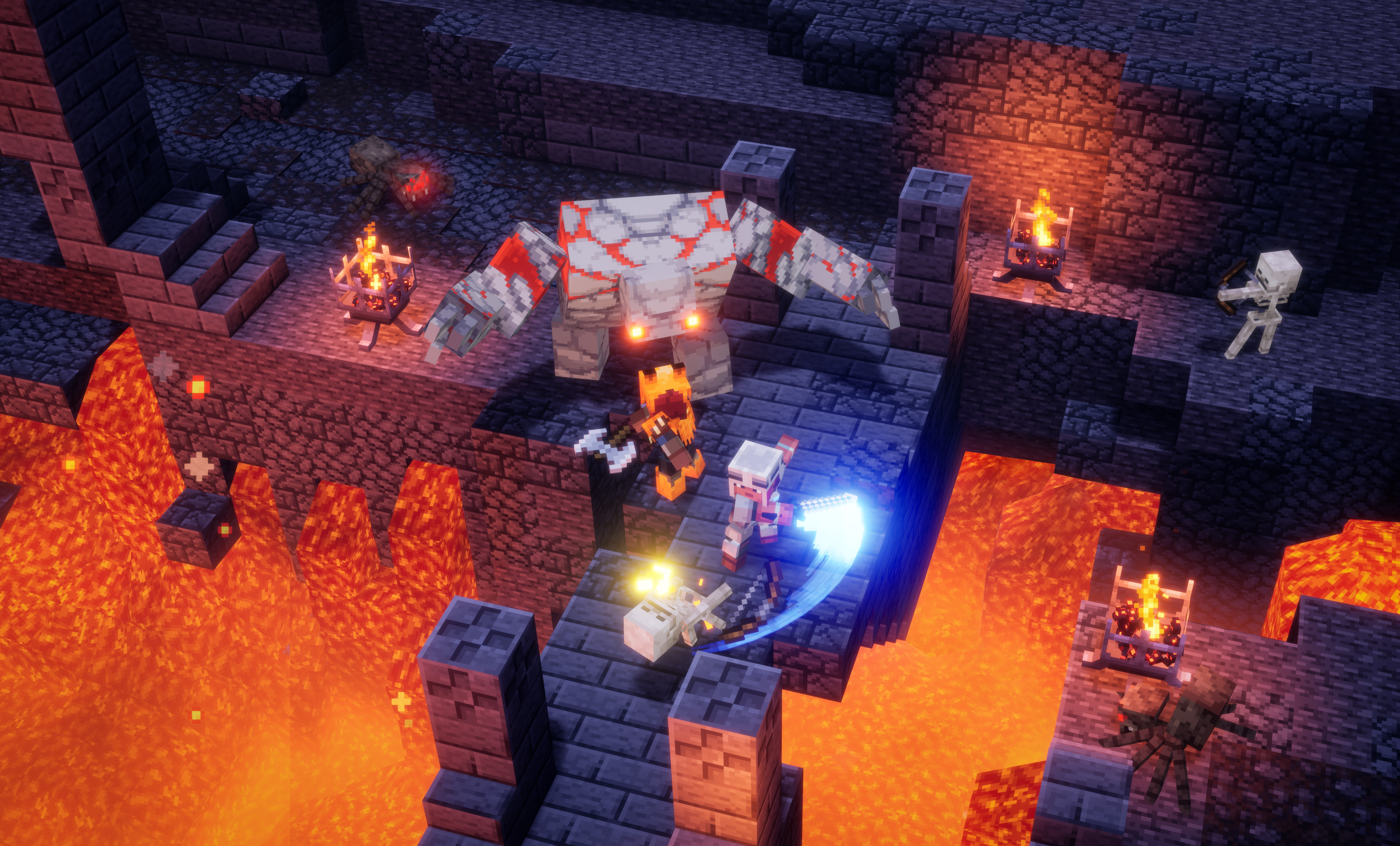 Minecraft Dungeons crossplay: Everything to know about Minecraft