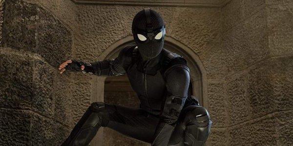 Spider-Man's stealth armor