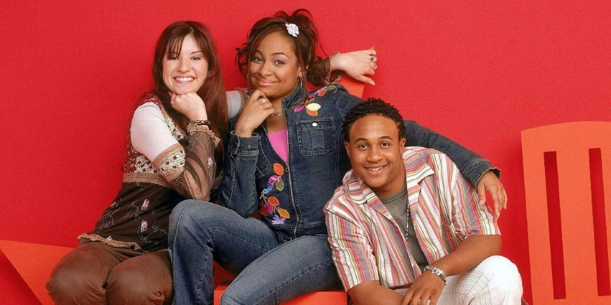 Orlando Brown, Raven Symone and Anneliese van der Pol in That's So Raven