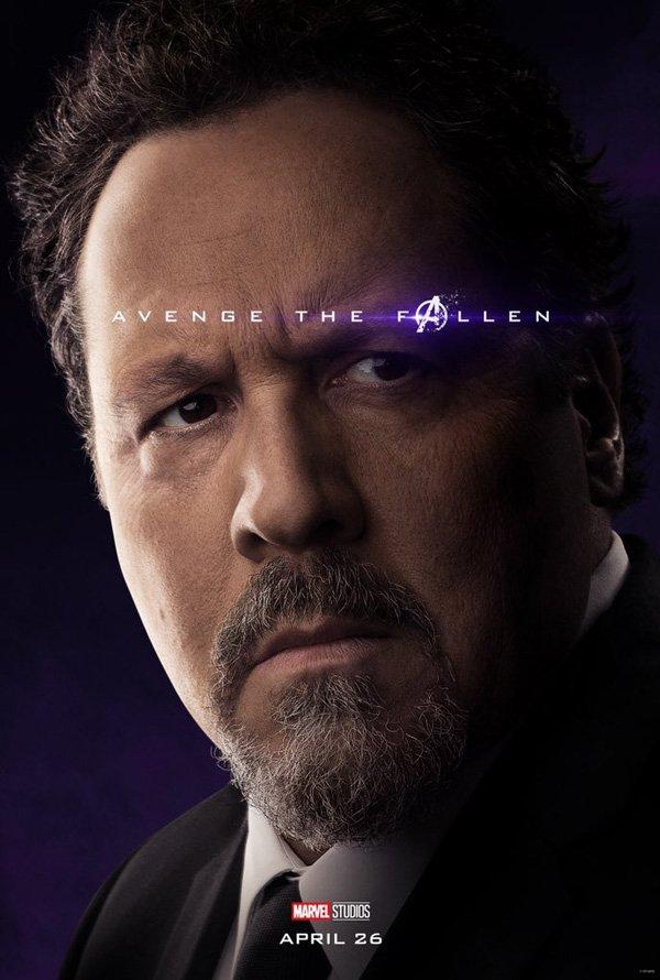 Jon Favreau as Happy Hogan In Avengers: Endgame