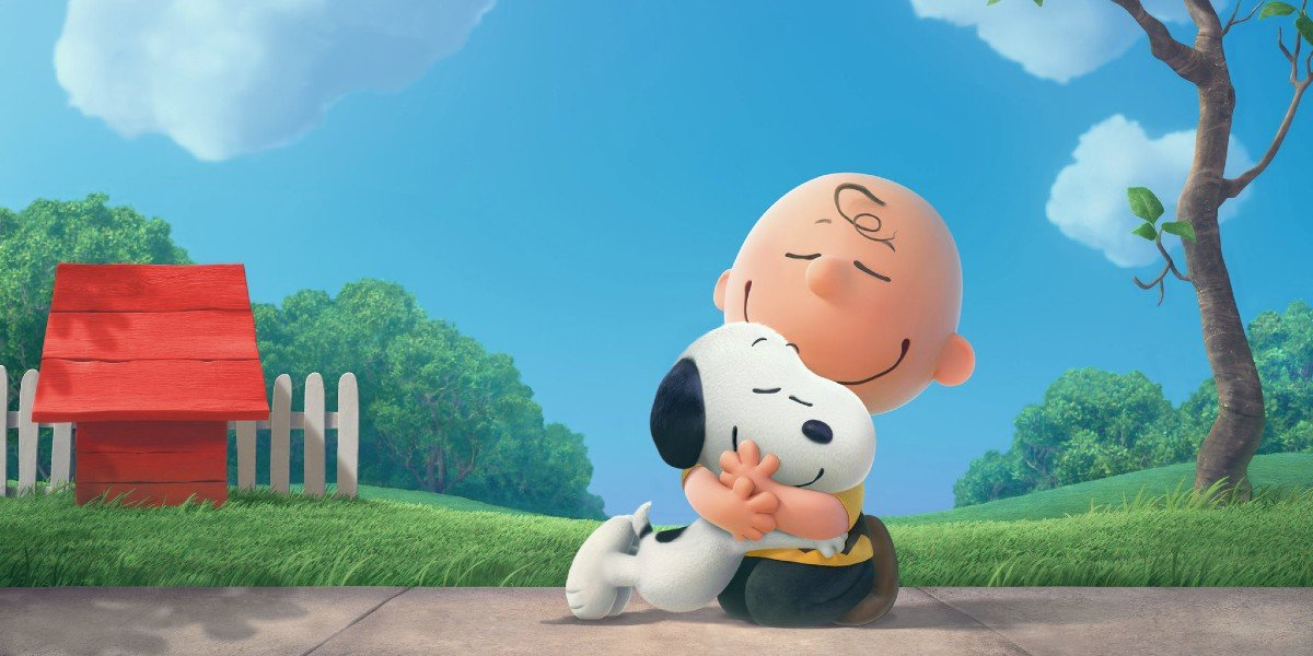 Charlie Brown and Snoopy in The Peanuts Movie