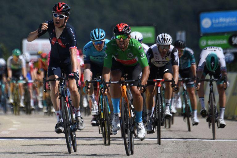 Geraint Thomas wins stage five of the 2021 Criterium du Dauphine