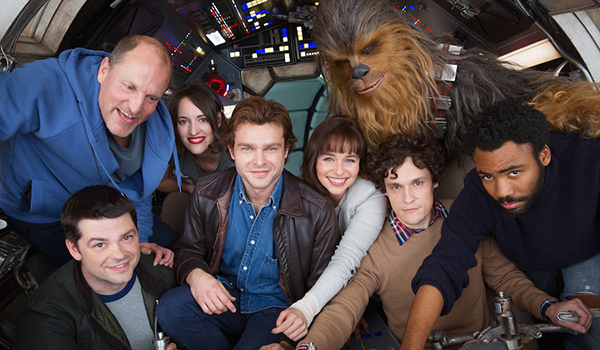 Solo: A Star Wars Story cast meets for the first time with Phil Lord and Chris Miller