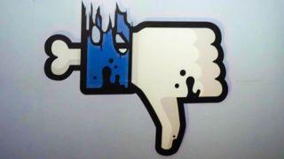 Faceboom zombie