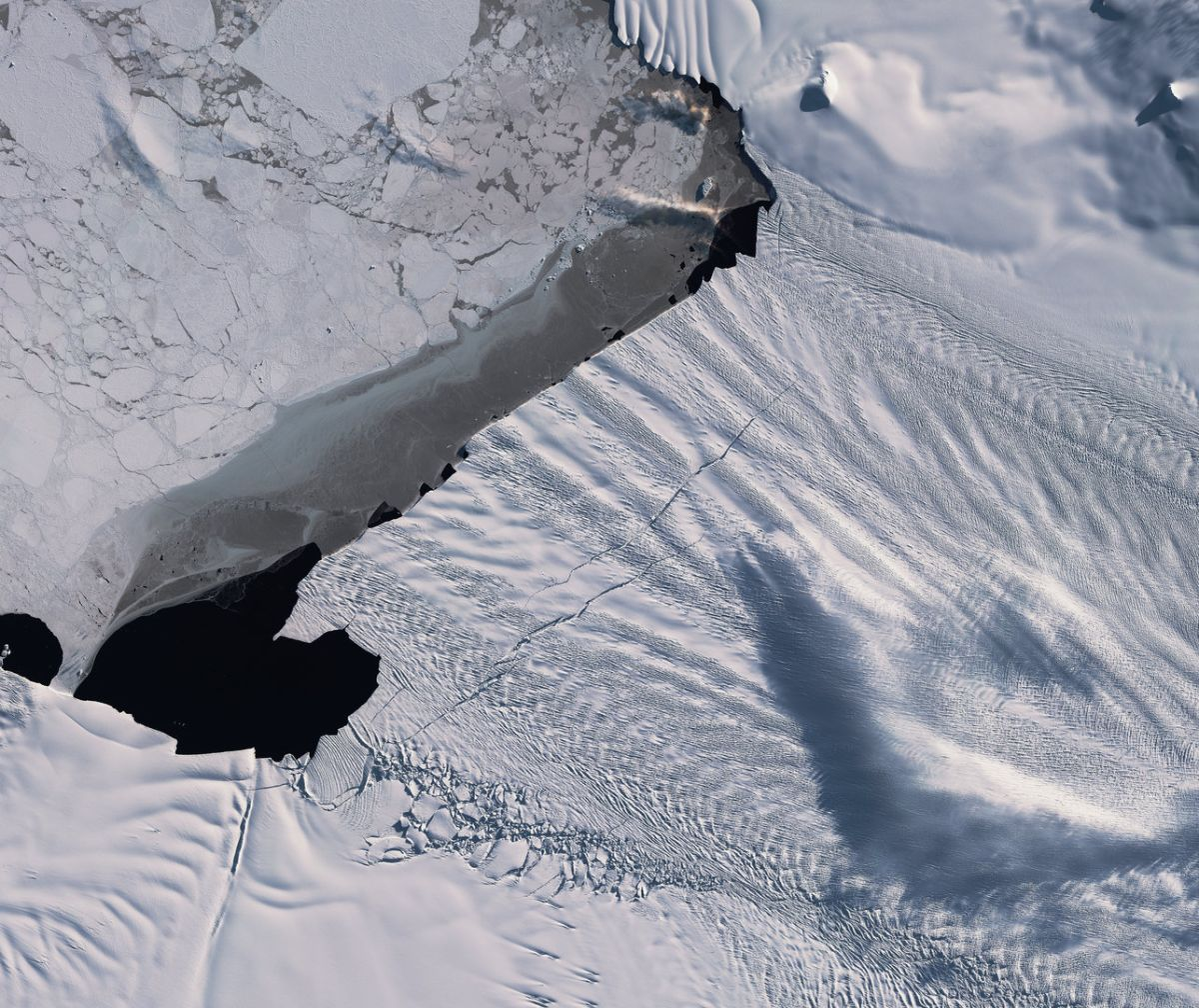 Endangered Antarctic Glacier Could Soon Calve a Massive New Iceberg